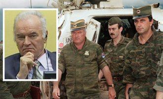 Έφεση στο Διεθνές Δικαστήριο της Χάγης άσκησε ο στρατηγός Ράτκο Μλάντιτς