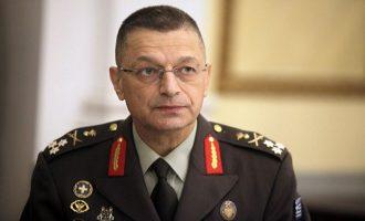 Ηχηρό μήνυμα του Αρχηγού ΓΕΣ στην Τουρκία