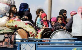 Περισσότεροι από 330 άνθρωποι εγκατέλειψαν την Ανατολική Γούτα