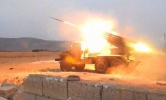 Πληροφορίες ότι το συριακό πυροβολικό βομβάρδισε με ρουκέτες τουρκικό φυλάκιο στη Συρία