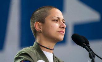 """ΗΠΑ: Βροντερό """"όχι"""" στην οπλοκατοχή – Η αγωνιώδης σιωπή της Έμα Γκονζάλες"""