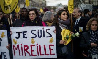 """Απάντηση των Γάλλων στον αντισημιτισμό με """"Λευκή Πορεία"""" – Γιατί αποχώρησαν η Λεπέν και ο Μελανσόν"""