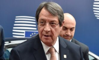 Αναστασιάδης: Προσφυγή στο Συμβούλιο Ασφαλείας αν οι Τούρκοι φέρουν γεωτρύπανο