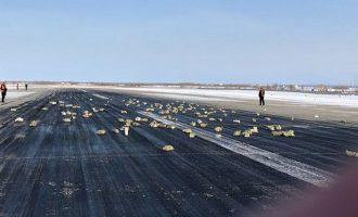 Απίστευτο: Έπεσαν 3,4 τόνοι χρυσού από αεροπλάνο στη Ρωσία