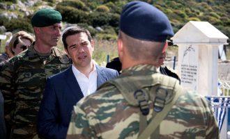 Τσίπρας: Μην παίζετε με την Ελλάδα, δεν εκχωρούμε σπιθαμή των εδαφών μας