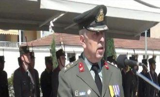 Σκληρή απάντηση του Αρχηγού ΓΕΣ στην Τουρκία (βίντεο)