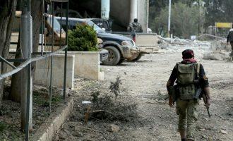 Τέσσερις Τούρκοι στρατιώτες σκοτώθηκαν στην Εφρίν από έκρηξη βόμβας των Κούρδων