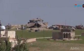 Νέο αμερικανικό φυλάκιο στη Μανμπίτζ – Ενισχύονται τα στρατεύματα των ΗΠΑ στο πλευρό των Κούρδων