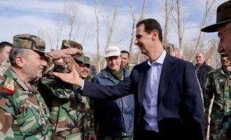 Σε καταφύγιο κρύφτηκε ο Άσαντ – Τον φυλάνε οι Ρώσοι