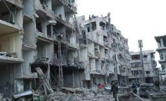 Η Τουρκία καταδίκασε τη φερόμενη επίθεση με χημικά στην ανατολική Δαμασκό