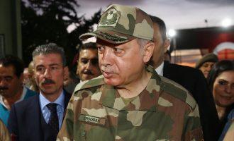 Η πρώτη αντίδραση της Τουρκίας για την επίθεση ΗΠΑ, Γαλλίας και Βρετανίας στη Συρία