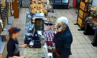 Στη δημοσιότητα βίντεο από τη δράση 35χρονου που λήστευε αρτοποιεία (βίντεο)
