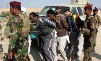 Ακατάπαυστα οι ιρακινές Αρχές συλλαμβάνουν τζιχαντιστές του Ισλαμικού Κράτους που διαφεύγουν