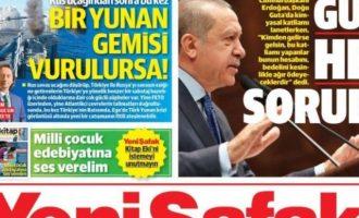Ποια σενάρια γράφει η Yeni Safak για «χτύπημα» σε ελληνικό πλοίο