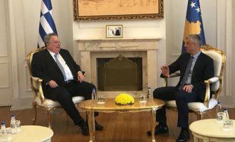 Στην Πρίστινα ολοκληρώθηκε η περιοδεία Κοτζιά – Τι συζήτησε με τον πρόεδρο του Κοσόβου