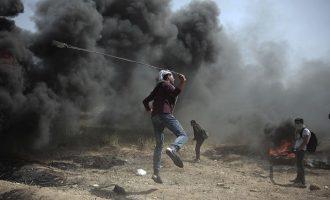 Αιματηρές συγκρούσεις στη Λωρίδα της Γάζας: Πέντε νεκροί και εκατοντάδες τραυματίες