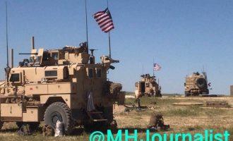 Αμερικανικά στρατεύματα στη Μανμπίτζ παρατάσσονται απέναντι στους Τούρκους (φωτο)