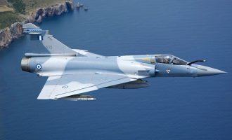 Έπεσε ελληνικό Mirage 2000 ανοιχτά της Σκύρου – Επέστρεφε από αναχαίτηση στο Αιγαίο