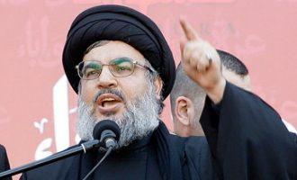 Ηγέτης Χεζμπολάχ: Ιστορικό λάθος του Ισραήλ ο βομβαρδισμός Ιρανών στη Συρία