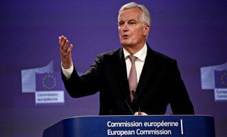 Προειδοποίηση Μπαρνιέ προς Βρετανία για τις «κόκκινες γραμμές» στο Brexit