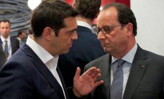 Ολάντ: Ο Τσίπρας έδρασε ως Ευρωπαίος και ως άνθρωπος της Αριστεράς