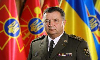 Ουκρανός υπ. Άμυνας: Η Ρωσία έχει συγκεντρώσει 77.000 στρατιώτες στα σύνορα των δύο χωρών