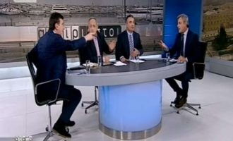 Άναψαν τα αίματα στον ΣΚΑΪ: «Πορτοσάλτε είσαι άσχετος και επαγγελματίας προβοκάτορας» (βίντεο)