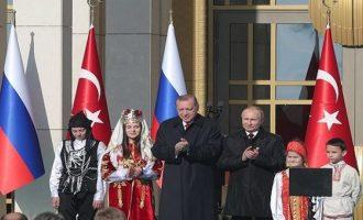 Πώς η Τουρκία εξαρτάται όλο και πιο πολύ ενεργειακά από τους Ρώσους