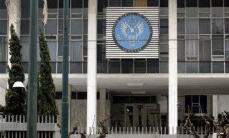 Αμερικανική Πρεσβεία: Η Ελλάδα είναι πυλώνας σταθερότητας στην περιοχή