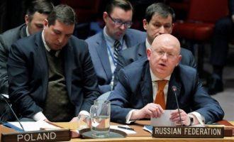 H Ρωσία άσκησε βέτο στο σχέδιο των ΗΠΑ για τη Συρία