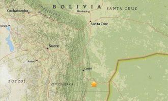 Ισχυρός σεισμός 6,6 Ρίχτερ στην Βολιβία