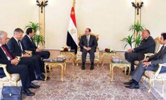 Συνάντηση Αλ Σίσι – Χριστοδουλίδη: Στο επίκεντρο η ενεργειακή συνεργασία Αιγύπτου – Κύπρου