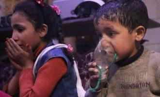 Λένε ότι ο Άσαντ βομβάρδισε με αέριο «Σαρίν» τη Ντούμα – Για το «Σαρίν» όμως έχει κατηγορηθεί ο Ερντογάν