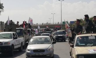 Δυνάμεις της συριακής εθνοφρουράς συγκεντρώνονται για επίθεση στο Ισλαμικό Κράτος στα νότια της Δαμασκού