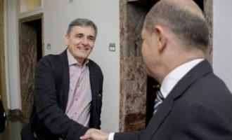 «Με καλές συνομιλίες προς μια νέα ισχυρή σχέση» η συνάντηση Τσακαλώτου – Σολτς