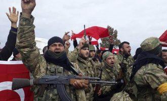 Τούρκοι στρατιώτες και τζιχαντιστές σέρνουν Κούρδους Γιαζίντι στα τζαμιά της Εφρίν για να τους εξισλαμίσουν