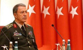 """Ο Τούρκος Αρχηγός ΓΕΕΘΑ απειλεί την Ελλάδα: """"Δεν θα επιτρέψουμε τετελεσμένα στο Αιγαίο"""""""