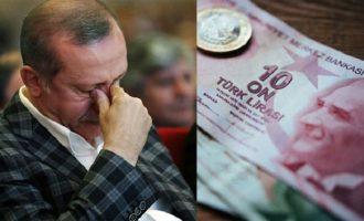 «Κάηκε» η τουρκική λίρα: 7,24 ανά δολάριο – Κεντρική τράπεζα: «Όλα τα απαραίτητα μέτρα»