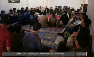 Η τζιχαντιστική Τζαΐς Αλ Ισλάμ στρατολογεί πρόσφυγες για να επιτεθεί στους Κούρδους της Συρίας