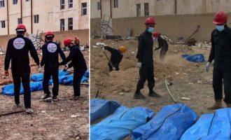 Το Ισλαμικό Κράτος είχε μετατρέψει το γήπεδο της Ράκα σε ομαδικό τάφο – Εκατοντάδες οι νεκροί