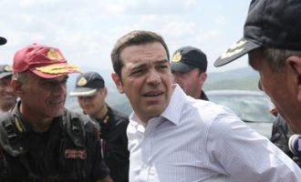 Ο Τσίπρας ανακοινώνει στις 14.00 το νέο σχέδιο Πολιτικής Προστασίας
