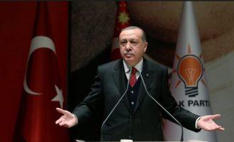 Αντιμέτωπος με την πανωλεθρία ο Ερντογάν – 6,43 λίρες ανά δολάριο – 16% ο πληθωρισμός