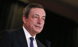 Ντράγκι: Η συζήτηση για αρνητικό επιτόκιο καταθέσεων δεν είναι καινούργια