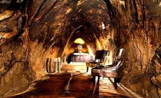 Sala Silvermine: Ξενοδοχείο 155 μέτρα κάτω από τη Γη