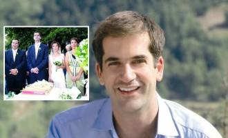 """""""Βελούδινο"""" διαζύγιο για τον Κώστα Μπακογιάννη και τη σύζυγό του"""