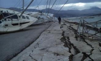 Νέες εικόνες βιβλικής καταστροφής από την Κεφαλονιά