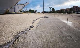 Ληξούρι: Βίντεο – οδοιπορικό στο βομβαρδισμένο τοπίο