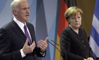 """Γ. Παπανδρέου: """"Η Μέρκελ μας επέβαλε το ΔΝΤ"""""""