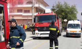 Πυρκαγιά σε διαμέρισμα στην Κοζάνη