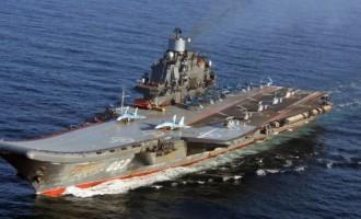 Ο ρωσικός στόλος της Μεσογείου στην κυπριακή ΑΟΖ